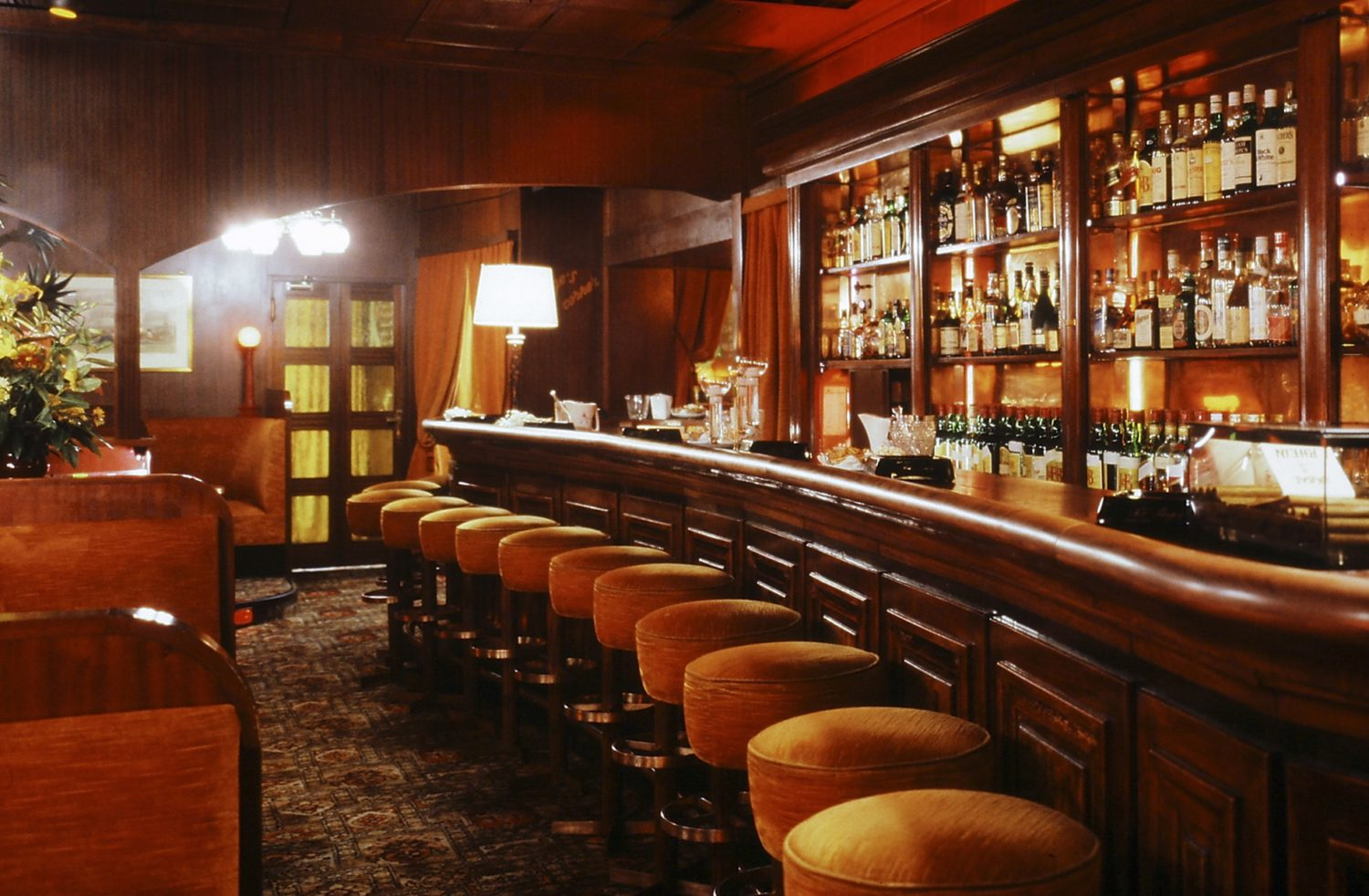 interieur de bar